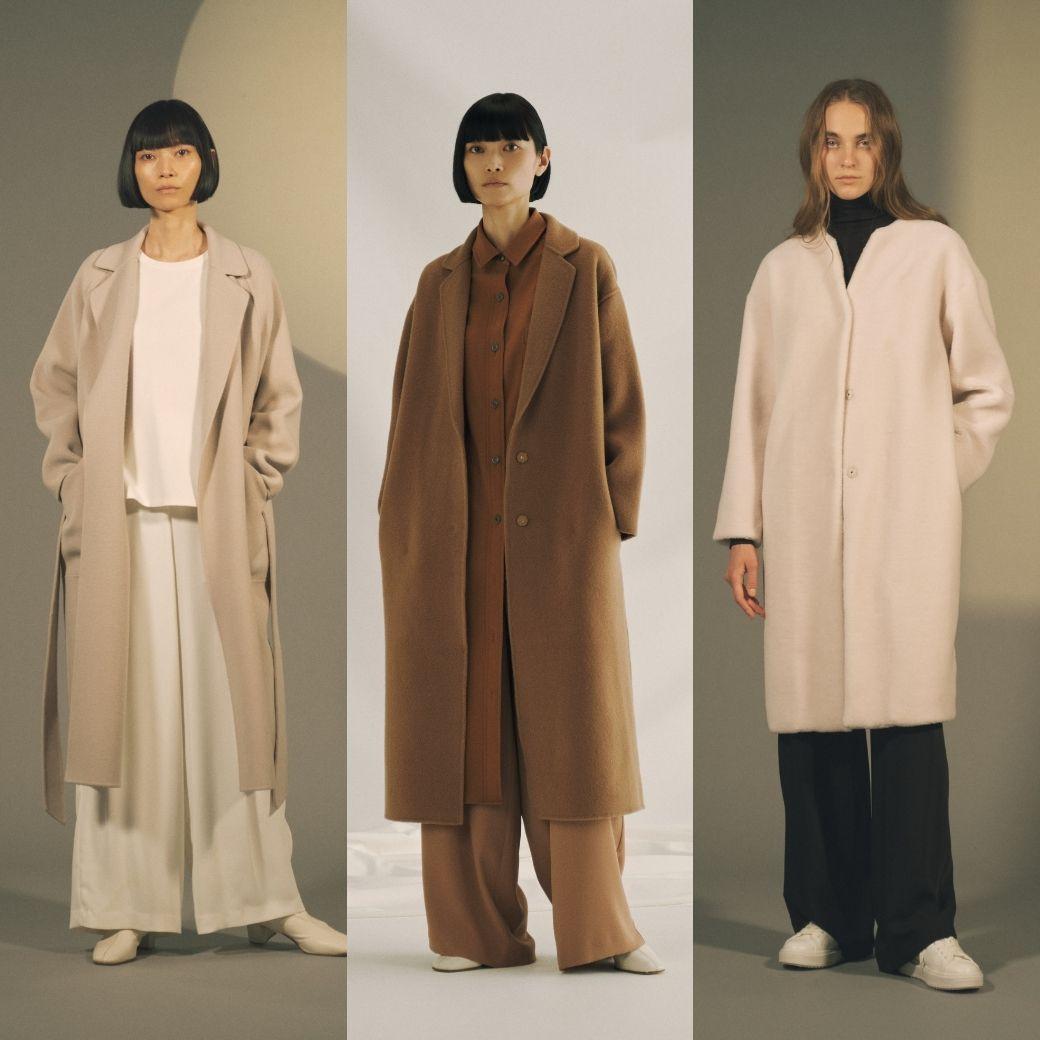 上質感に包み込まれる、SOÉJUの新作ウールコート3型をご紹介